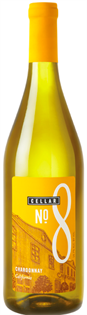 Cellar No. 8 Chardonnay 750ml - Case of 12